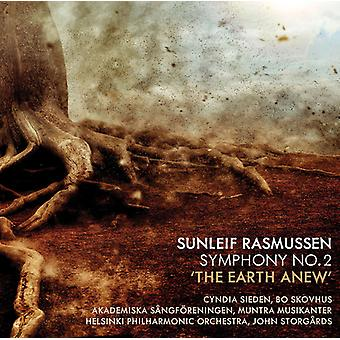 Rasmussen / Sieden / Storgards - Sunleif Rasmussen: Symphony 2 / Earth Anew [CD] USA import
