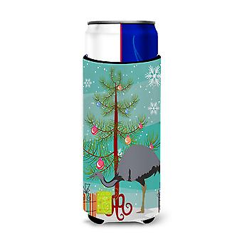 Rhea  Christmas Michelob Ultra Hugger for slim cans
