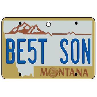 Montana - bedste søn nummerplade bil luftfriskere