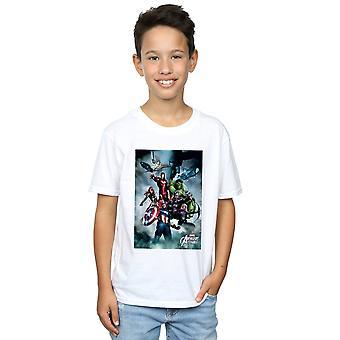 Marvel jungen Avengers versammeln, Team-Montage-T-Shirt