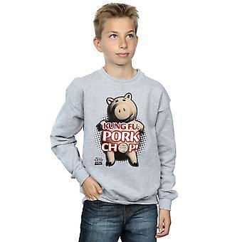 Disney jongens Toy Story Kung Fu Pork Chop Sweatshirt