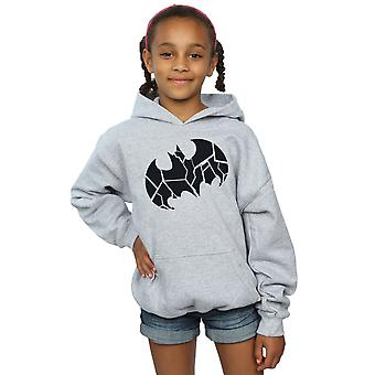 DC Comics ragazze Batman monocolore Shield Hoodie
