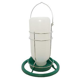 Quiko マイニング ランプ スタイル プラスチック ペット鳥大酒飲み (1 リットル)