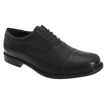 Roamers Mens Fuller raccord plafonné chaussures Oxford en cuir