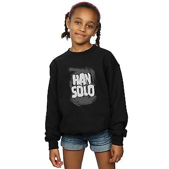 Star Wars Girls Han Solo Text Sweatshirt