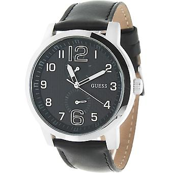 Guess Mens Designer Watch - RRP £155 - Black Silver - Trend Collection W75042G1