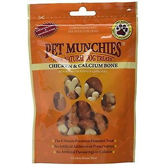 Pet Munchies Chicken and Calcium Bones Dog Treats, 100 g