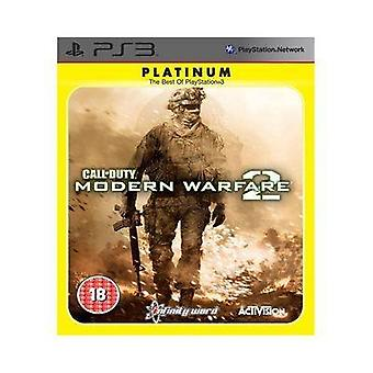Call of Duty Modern Warfare 2 - Platine (PS3) - Nouveau