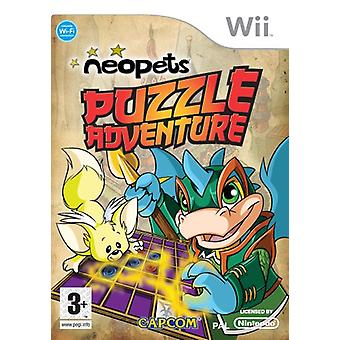 Neopets Puzzle Adventure (Nintendo Wii)-fabrieks verzegeld