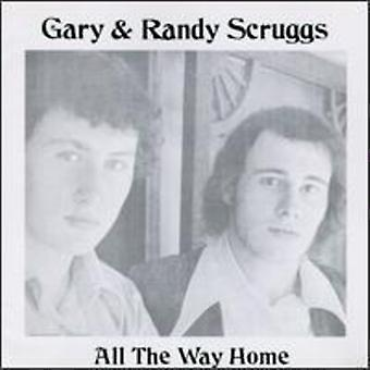 Gary Scruggs & Randy - All the Way Home [CD] USA import