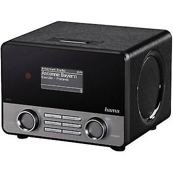Hama IR110 Internet biurko radio Internet AUX, radio internetowe, USB Spotify Black