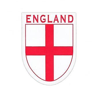 Union Jack Wear England St George Cross Shield Sticker