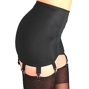 Premier Lingerie 8 Strap Vintage Style Shapewear Girdle with Garters