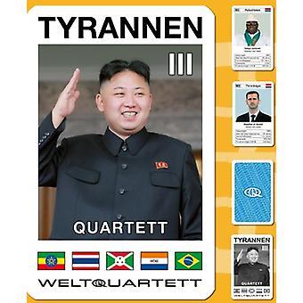 Tyran III kvartetten del 3 diktator kvartetten kortspil