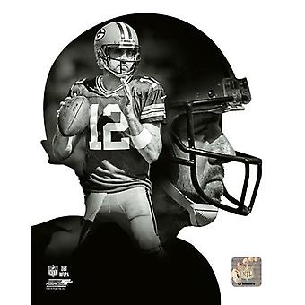 Aaron Rodgers profiili Photo Print