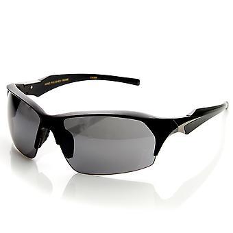 Wysokiej jakości TR-90 pół ramki sportowe pół-bez oprawek okularów przeciwsłonecznych