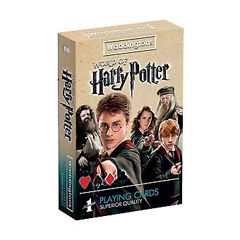 Winning Moves 13779 Harry Potter Waddingtons Number 1 Playing Cards Game