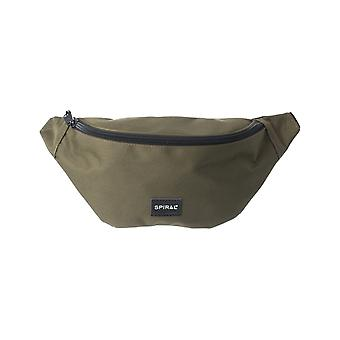 Spiral Olive Core Bum Bag in Olive