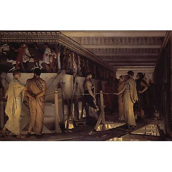 Phidias Showing The Frieze of, Alma-Tadema Sir Lawrence, 60x40cm