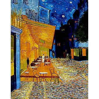 Café Terrace at night, Van Gogh 90x120 cm