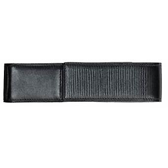 Lamy Double Soft Embossed Leather Pen Case - Black