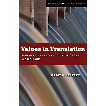 Waarden in Translation - rechten van de mens en de cultuur van de Wereldbank