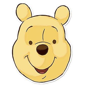 Winnie De Poeh Card Fancy Dress Mask (Poeh Bear)