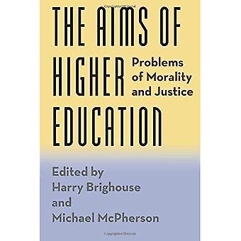 Gli obiettivi dell'istruzione superiore: problemi di moralità e giustizia