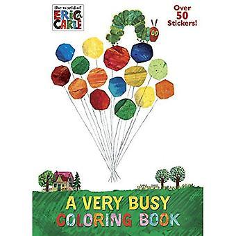 En mycket upptagen målarbok (världen av Eric Carle)