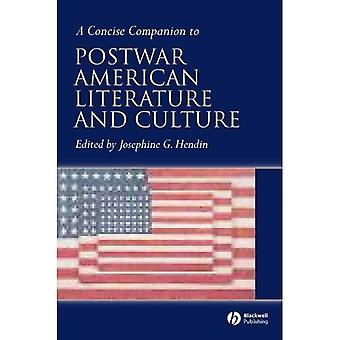 Concise Companion to Postwar American Literature and Culture (Concise Companions to Literature and Culture)