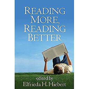 Lire plus d'informations, lire mieux (résoudre les problèmes dans l'enseignement de Literacy Series)