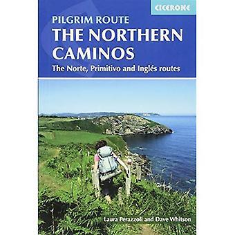 De noordelijke Caminos: De Caminos Norte, Primitivo en Ingles (internationale lopen)