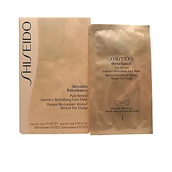 Shiseido Benelogodnicul pure retinol face masca 4 PZ pentru femei
