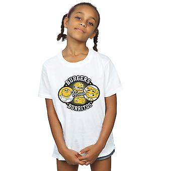 DC Comics Girls Teen Titans Go Burgers Vs Burritos T-Shirt