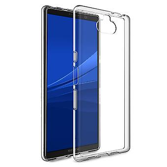 Pehmeä TPU kuori Sony Xperia 10 läpinäkyvä