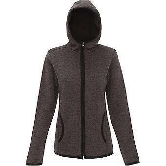 Mirada al aire libre mujeres/señoras Melange con capucha chaqueta