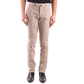 Incotex Ezbc093057 Men's Beige Cotton Pants