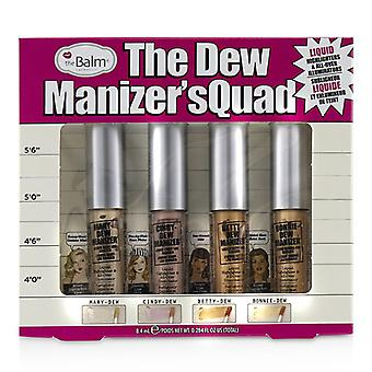 TheBalm The Dew manizer ' s quad (highlighters líquido)-4pcs