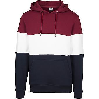 Urban Classics heren hoodie 3-Tone