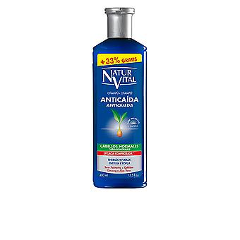 Naturaleza Y Vida Shampoo Anticaida Cabello normaali 300 + 100 Ml Unisex