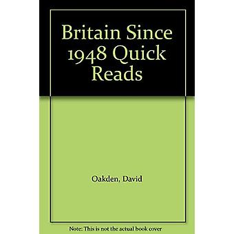 Britain Since 1948 Quick Reads by David Oakden - 9781871173901 Book