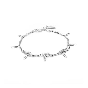 Ania Haie Sterling Silver 'Tropic' Double Bracelet