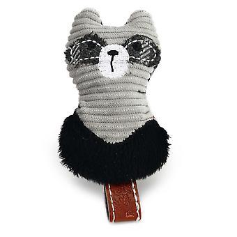 Ontworpen door Lotte pluche wasbeer kat speelgoed