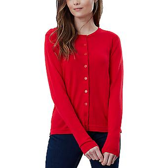 Joules Womens Skye Classic Long Sleeve Button Up Cardigan