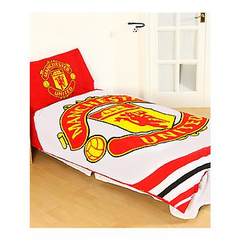 Manchester United FC jogo de capa de edredão de pulso