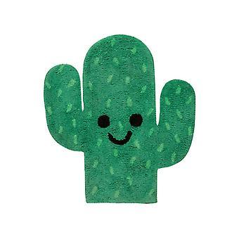 Gelukkige cactus vormige vloer tapijt