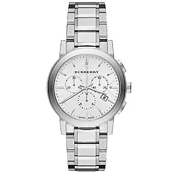 Burberry Bu9750 Silver Dial Stainless Steel Gents Watch
