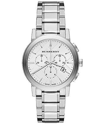 Burberry Bu9750 Silver Dial Stainless Steel Ladies Watch