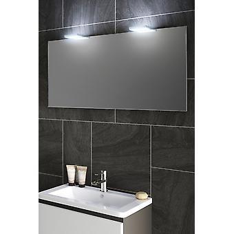 RGB Audio topp lys speil med sensor og barbermaskin k491rgbaud