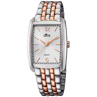 Lotus classic Quartz Analog Unisex Watch with 18354/2 Gold Plated Stainless Steel Bracelet